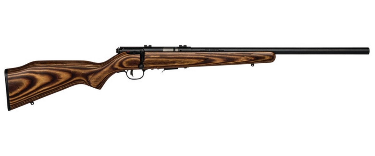 "SAVAGE 93R17 BV BOLT ACTION RIFLE, .17HMR, 21"" HVY BBL, 5RD MAG, BLUED, NEW"