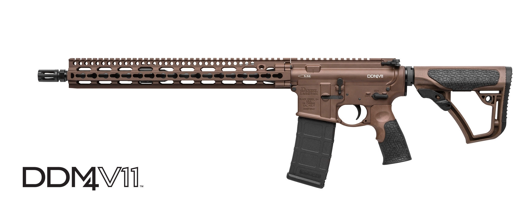 "DANIEL DEFENSE M4 V11 SEMI-AUTO CARBINE, 223 (5.56MM NATO), 16"" BBL, MIL SPEC+, NEW"