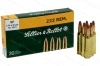222 S&B 50gr SP Ammo, 20rd box.