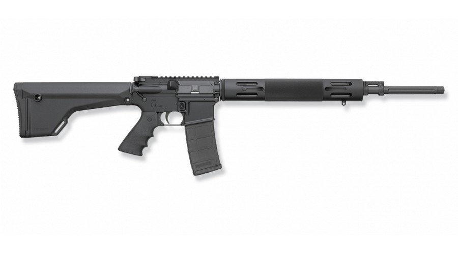 "BUSHMASTER PREDATOR FLAT-TOP SEMI-AUTO RIFLE, .223 (5.56 NATO), 20"" FLUTED EXTRA-HVY BBL, 5RD MAG, BLACK, NEW"