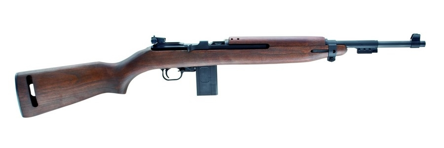 "CHIAPPA M1-22 SEMI-AUTO RIFLE, .22LR, 18"" BBL, 10RD, WOOD STK, BLUED, NEW"
