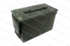 Ammo Can, 50cal, USGI, Steel, Used.