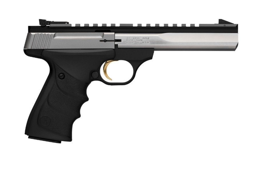 "BROWNING BUCK MARK CONTOUR URX SEMI-AUTO PISTOL, .22LR, 5.5"" BBL, STAINLESS, NEW"