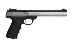 "BROWNING BUCK MARK CONTOUR URX SEMI-AUTO PISTOL, .22LR, 7.25"" BBL, STAINLESS, NEW"