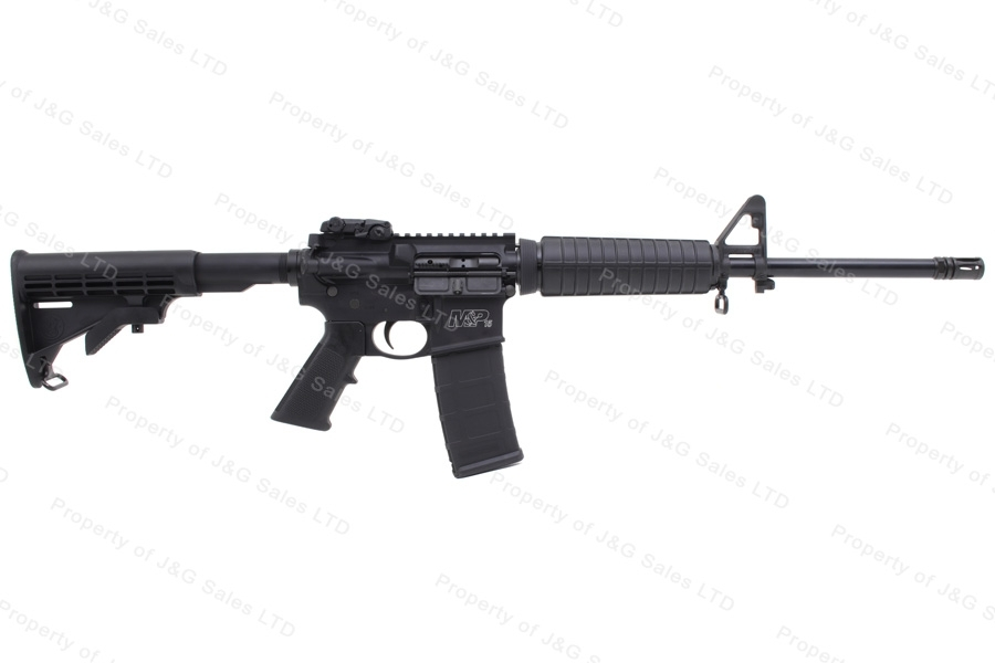 "Smith & Wesson M&P15 Sport II Semi Auto AR Style Rifle, 5.56/223, 16"", Magpul Sight, New. S&W"