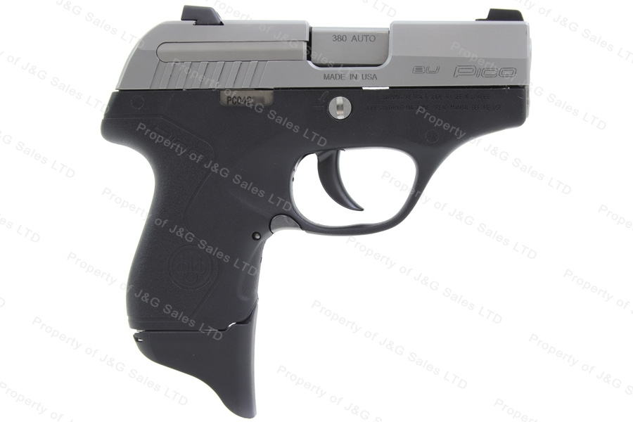 "Beretta PICO Semi Auto Pistol, 380ACP, 2.7"" Barrel, INOX Stainless, Excellent, Factory Repair, Used."
