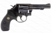 "Smith & Wesson 10 Revolver, 38 Special, 4"" Heavy Barrel, Round Butt, G-VG, CAI Mark, Used, S&W."