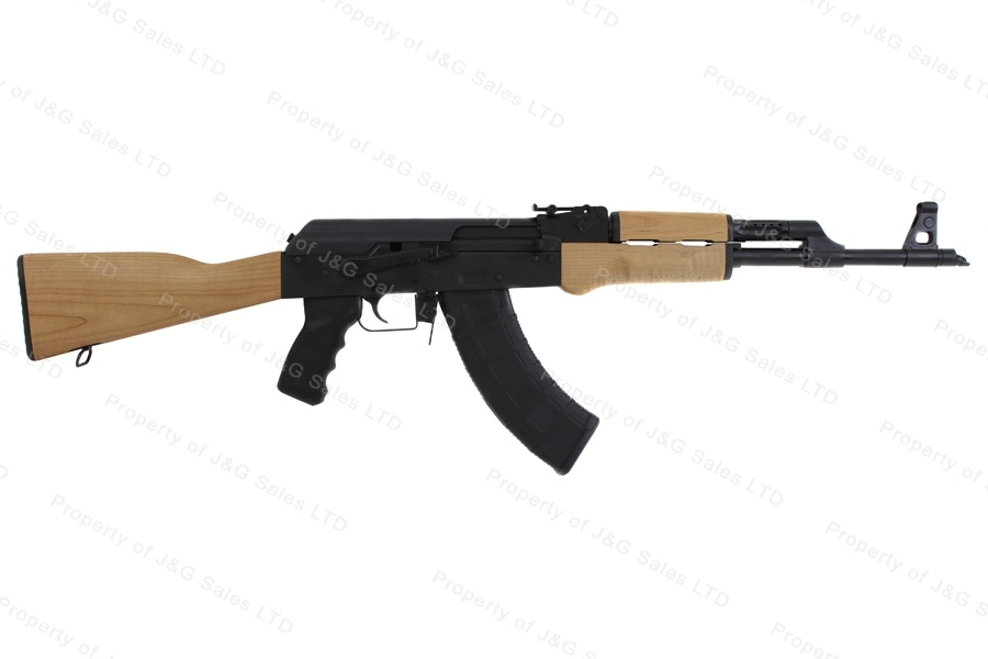 CAI RAS47 AK Style Semi Auto Rifle, 7.62x39, With Side Rail, Wood Stock, US Mfg, New.