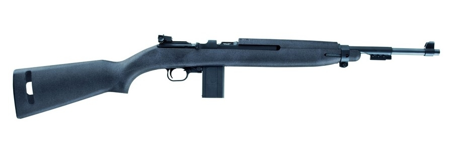 "CHIAPPA M1-22 SEMI-AUTO RIFLE, .22LR, 18"" BBL, 10RD, BLACK SYNTH STK, BLUED, NEW"
