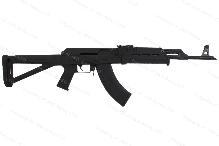 CAI RAS47 AK Style Semi Auto Rifle, 7.62x39, With Side Rail, MagPul MOE Stock, US Mfg, New.