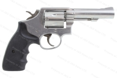"Smith & Wesson 64 Revolver, 38 Special, 4"" Barrel, Stainless, Round Butt, VG Plus, Used, S&W."