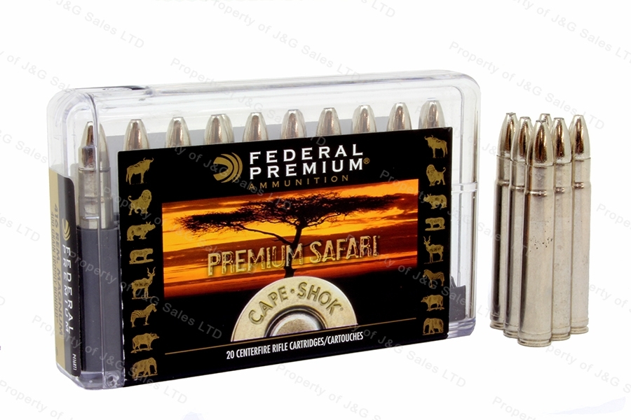 416 Rem Mag Federal Premium, 400gr Trophy Bonded Bear Claw Ammo, 20rd Box, New.