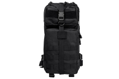 VISM Tactical Backpack, Compact size, Black, New.