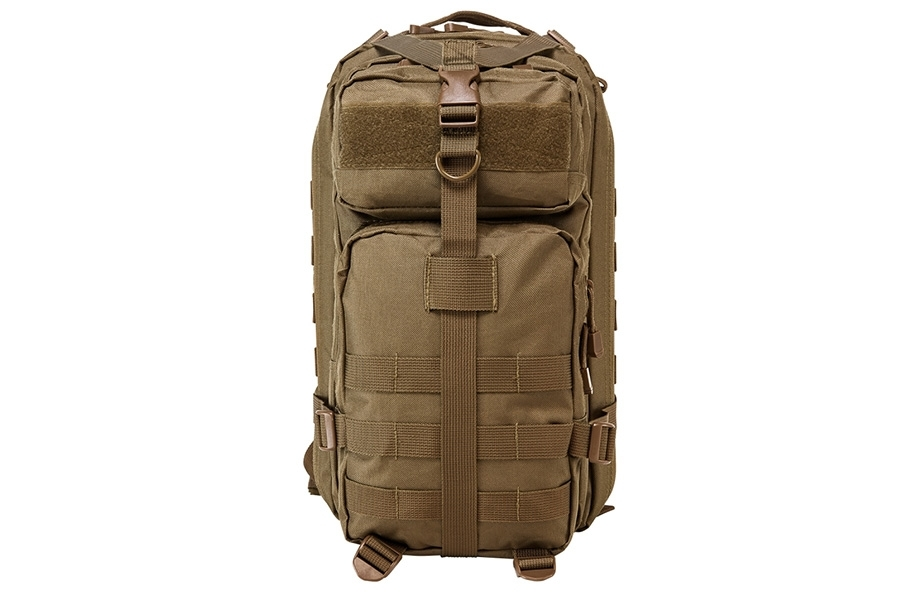 VISM Tactical Backpack, Compact size, Tan, New.