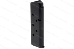 ASC 1911 45ACP 7rd Magazine, Officers Model Size, Black, New.