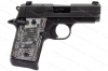Sig Sauer P938 Extreme Semi Auto Pistol, 9mm, G10 Grips, Night Sights, Black, New.