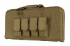 "VISM 28"" Tactical Subgun and AR Pistol Case, Tan Canvas, Rectangle, New."