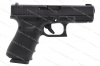 Glock 19 9mm Gen 4 Semi Auto Pistol, Ameriglo Front Sight, USA MFG, Black, New.