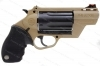 Taurus Judge Public Defender Poly Revolver, 45LC/410, FDE Tan Frame, New.