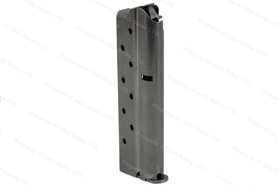 Colt 1911 9mm 9rd Factory Magazine, Stainless, New.