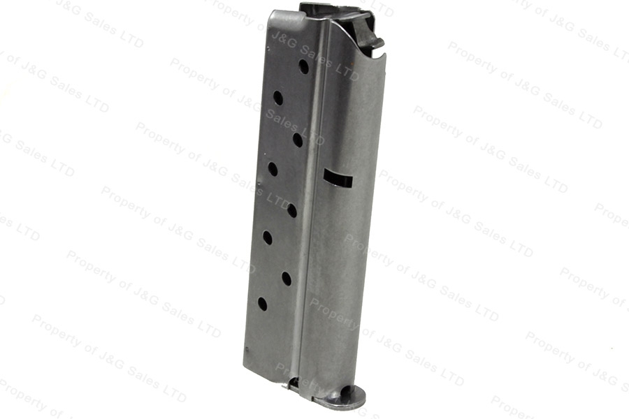 Colt 1911 38 Super 9rd Factory Magazine, Stainless, New.
