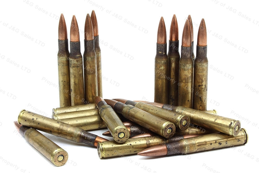 30-06 US Arsenal M2 Ball Ammo, 250rds loose in Steel Ammo Can, 150gr FMJ Military Surplus.
