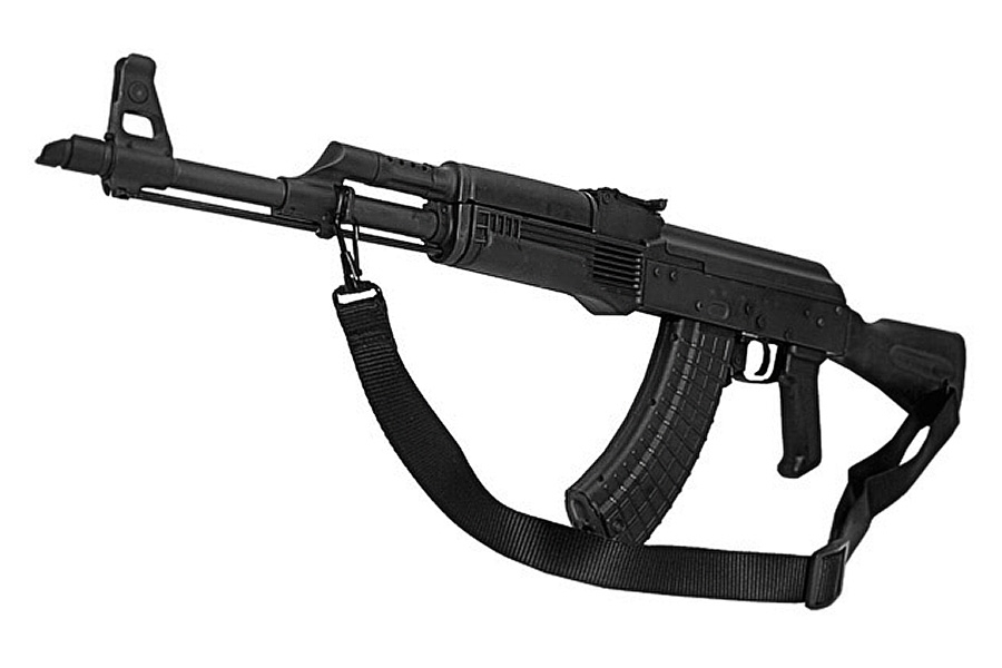 Max Ops AK-47 Style Two Point Sling, Black Nylon, 28193, New.