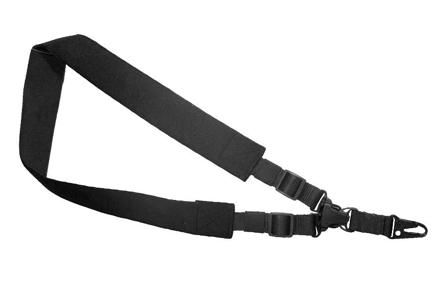 Max Ops Single Point Tactical Sling, Black Nylon, 28409, New.