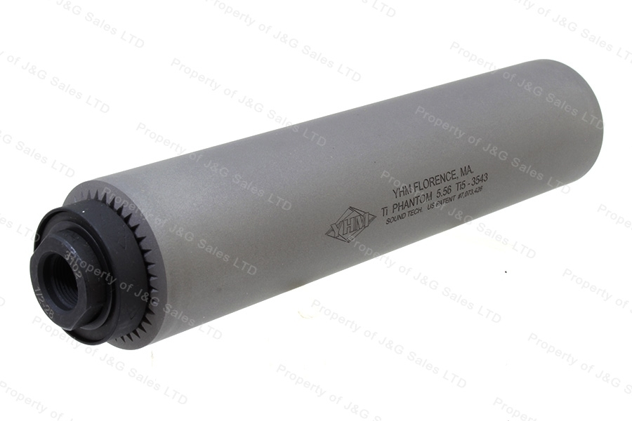 Yankee Hill Machine Phantom Ti QD 5.56 223 Suppressor Silencer, Titanium, New.
