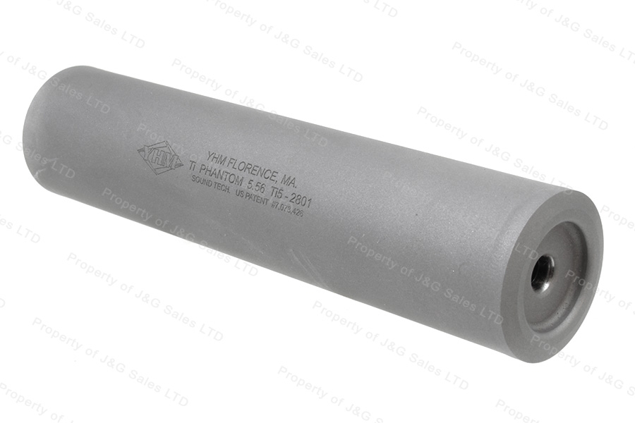 Yankee Hill Machine Phantom Ti 5.56 223 Suppressor Silencer, Titanium, New.
