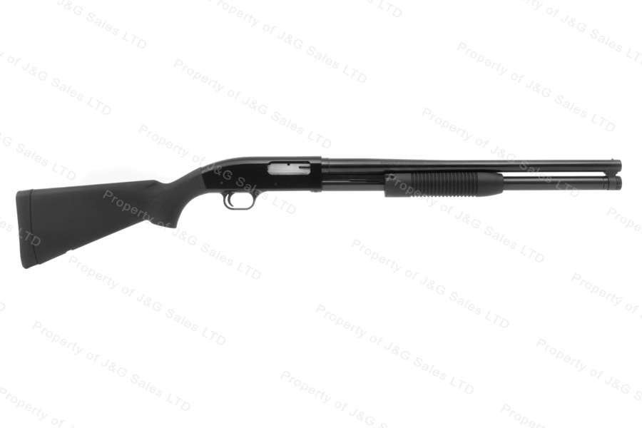 "Maverick 88 Pump Action Shotgun, 12ga, 20"" Barrel, Black, 8 Shot, New."