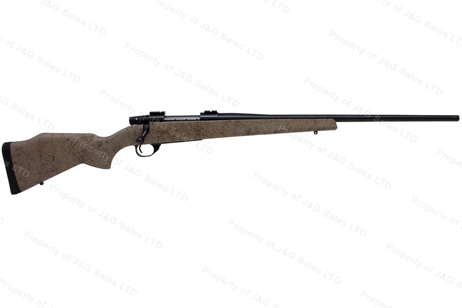 "Weatherby Vanguard Bolt Action Rifle, 300 WBY, 24"" Barrel, Monte Carlo Synthetic Stock, Excellent, Used."