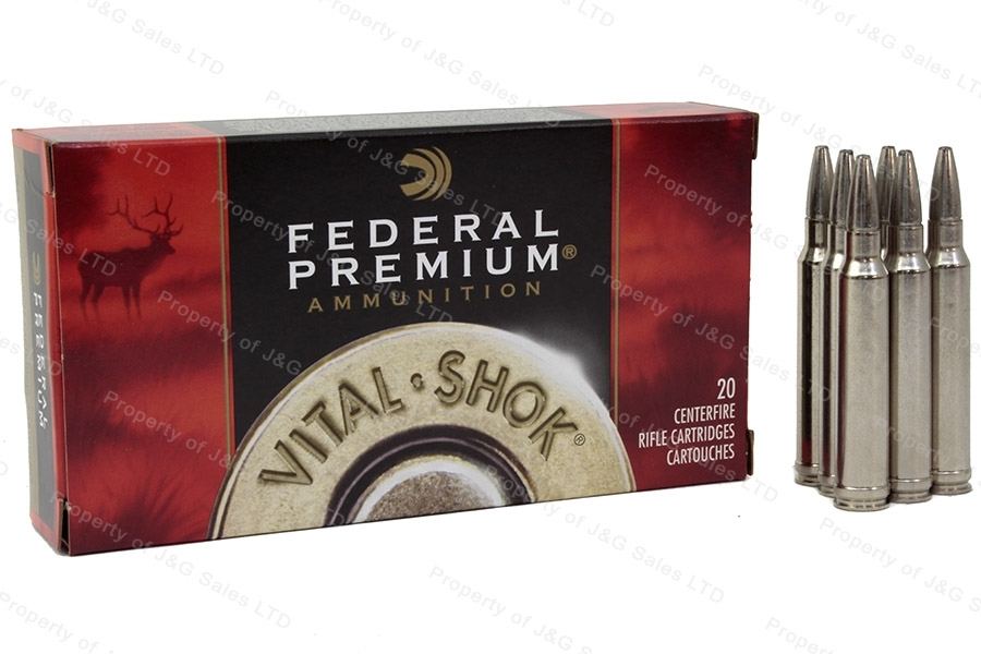 300 Win Mag Federal Premium 200gr Trophy Bonded Bear Claw Ammo, 20rd Box. P300WT1