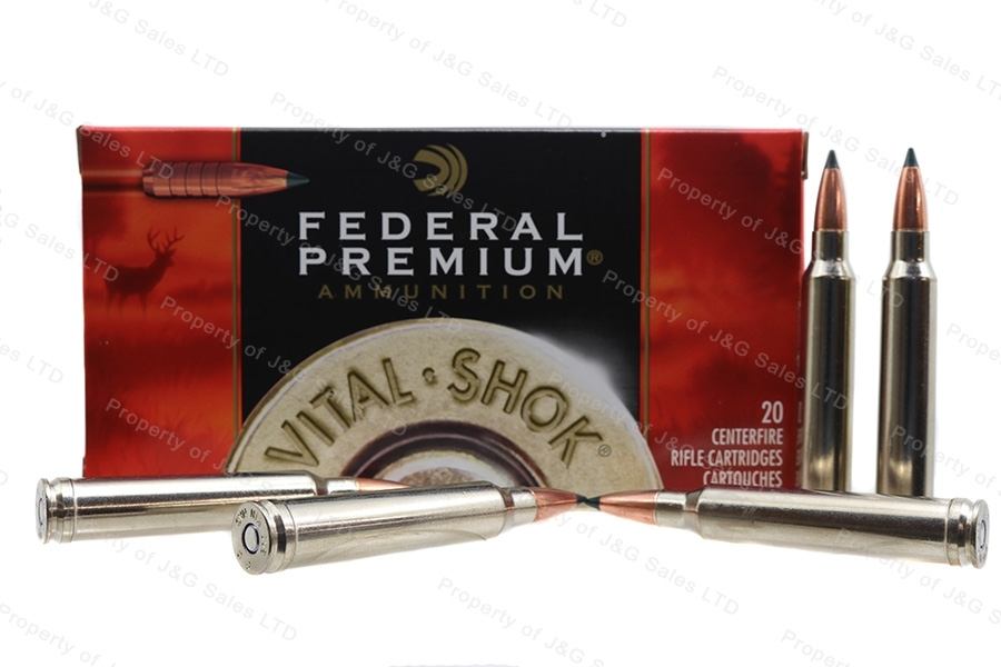300 Win Mag Federal Premium 165gr Trophy Copper Ammo, 20rd Box. P300WTC2