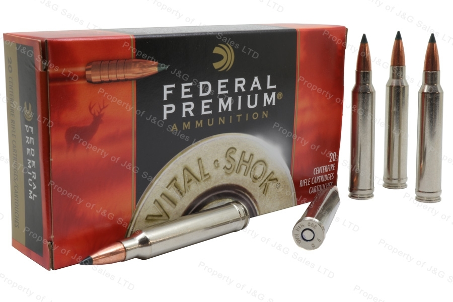 300 Win Mag Federal Premium 180gr Trophy Copper Ammo, 20rd Box. P300WTC1