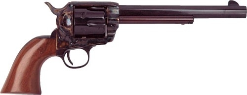 "CIMARRON EL MALO&#174 PRE-WAR MODEL REVOLVER, .357 MAG, 7.5"" OCT. BBL, CASE COLORED/BLUED, NEW"