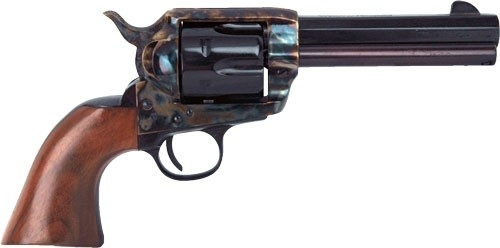 "CIMARRON EL MALO&#174 PRE-WAR MODEL REVOLVER, .45LC MAG, 4.75"" OCT. BBL, CASE COLORED/BLUED, NEW"