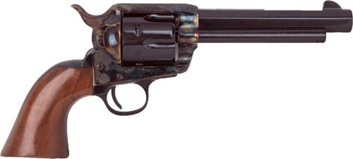 "CIMARRON EL MALO&#174 PRE-WAR MODEL REVOLVER, .45LC MAG, 5.5"" OCT. BBL, CASE COLORED/BLUED, NEW"