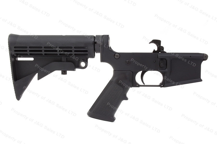 Anderson Mfg AM-15 AR Complete Lower Assembly with Buttstock, New.
