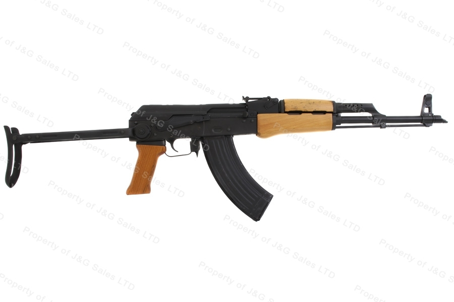 CAI AK63DS AK Style Semi Auto Rifle, 7.62x39, Stamped Receiver, Underfolder.