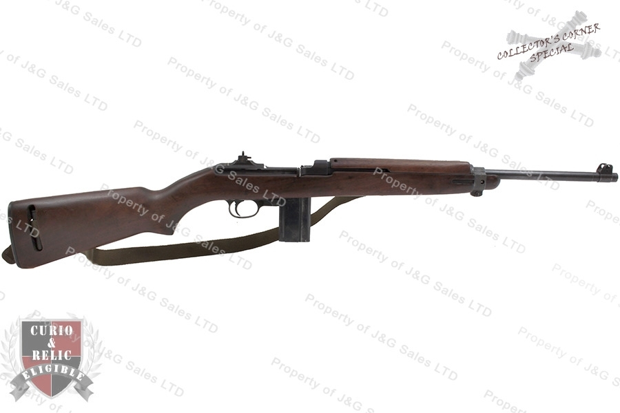 "M1 Carbine Semi Auto Rifle, 30 Cal, Winchester, ""W"" Proofed Barrel, Very Good, C&R, Used."
