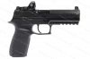 "Sig Sauer P320 RX Full Size Semi Auto Pistol, 9mm, 4.7"" Barrel, With Romeo Dot Sight, Upgraded Trigger, Black, New."