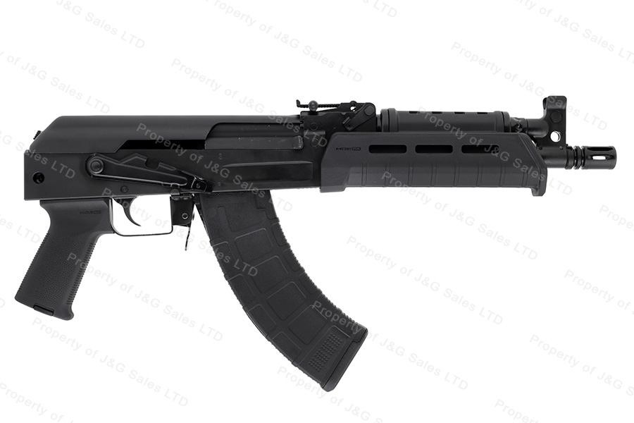 CAI C39V2 AK Pistol, 7.62x39, Milled Receiver, MagPul MOE stock, USA Mfg, New.