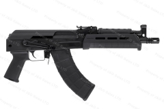 Century C39V2 AK Pistol, 7.62x39, Milled Receiver, MagPul MOE Handguards, USA Mfg, New.
