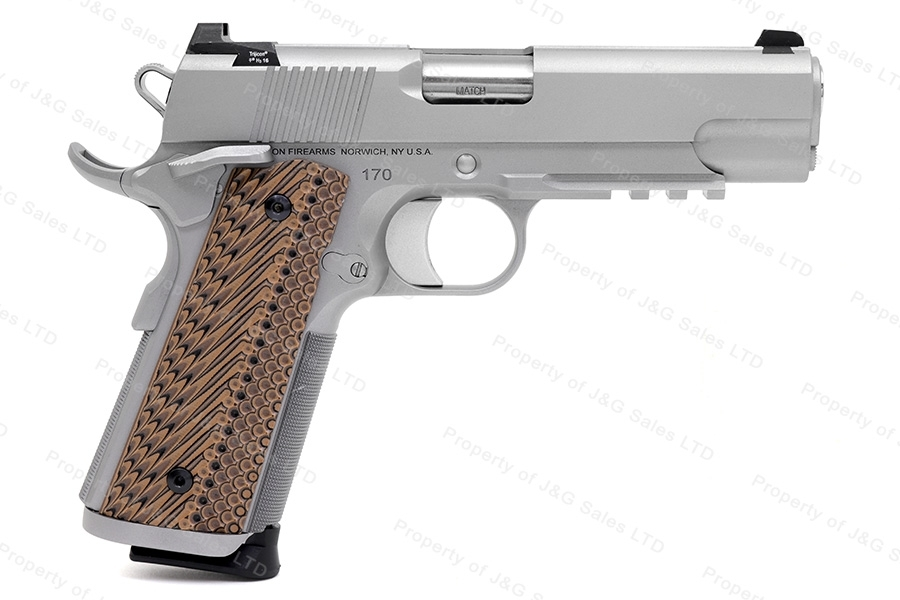 Dan Wesson Specialist Commander 1911-Style Semi Auto Pistol, 9mm, Night Sights, G10 Grips, Stainless, New by CZ.