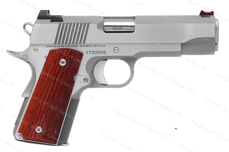 Dan Wesson Pointman Carry 1911-Style Semi Auto Pistol, 9mm, Stainless, Fiber Optic Sight, New by CZ.