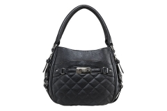 VISM Concealed Carry Purse BWD001, Quilted Hobo Bag, Black.