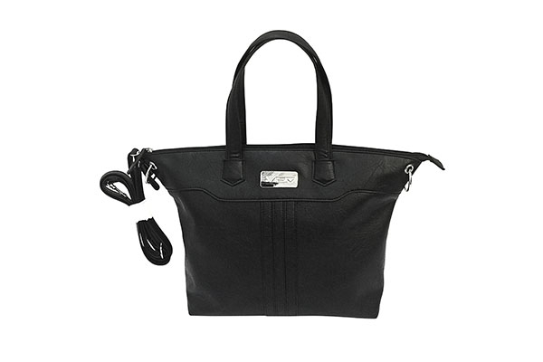 VISM Concealed Carry Purse BWE001, Satchel Bag, Black.