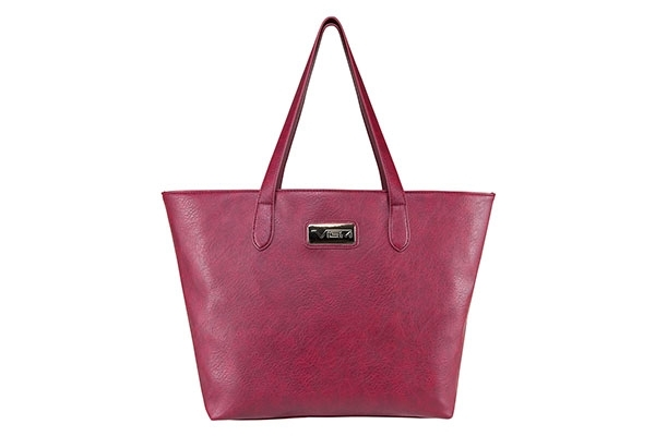VISM Concealed Carry Purse BWN003, Large Tote Bag, Red.
