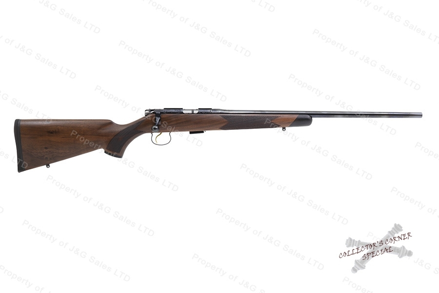 CZ 452 Grand Finale, Bolt Action Rifle, 22LR, Engraved Limited Edition of 1000, Wood Stock, Blued, New.